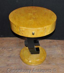 واحد آرت ديكو اليورو طاولة جانبية أثاث