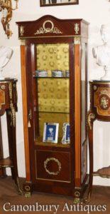 طويل الإمبراطورية الفرنسية عرض خزانة المجوهرات