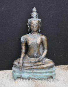 برونز، نيبالي، بوذا، تمثال البوذية، البوذي، طريقة، نيبال