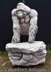 جبار، جبار، جنة، تمثال، أنثى القرد، قرد، طريقة