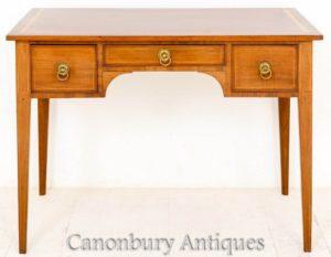 طاولة شيراتون العتيقة - طاولة الكتابة الجانبية 1890
