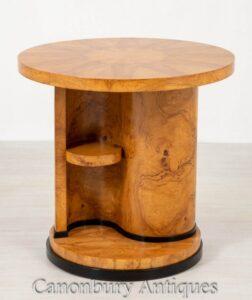 طاولة عرضية من آرت ديكو - جانب جانبي عام 1930
