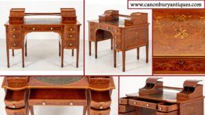 العتيقة كارلتون البيت مكتب -- ماهوغاني ريجنسي مكتب 1880