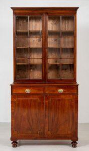 مكتبة ويليام الرابع - خزانة الماهوجني العتيقة