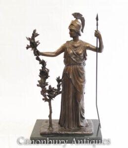 تمثال برونزي بريتانيا-الرومانية آلهة بريطانيا